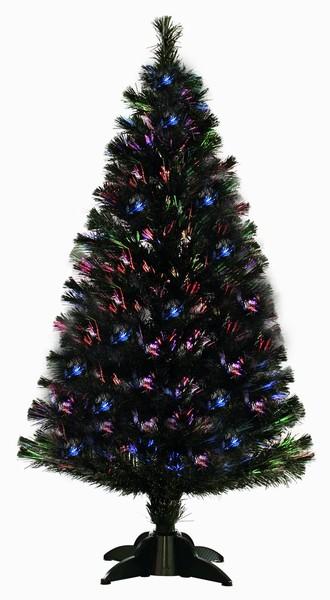Festive Snow Tipped Fibre Optic Tree – 60cm