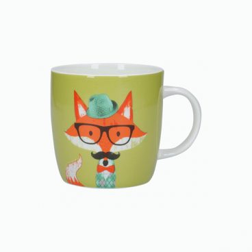 BARREL MUG FOX