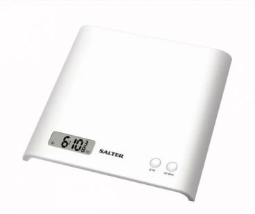 SCALES KITCHEN SALTER ARC ELECTRONIC WHITE