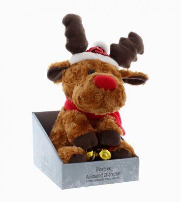 Animated Reindeer – Sings Jingle Bells