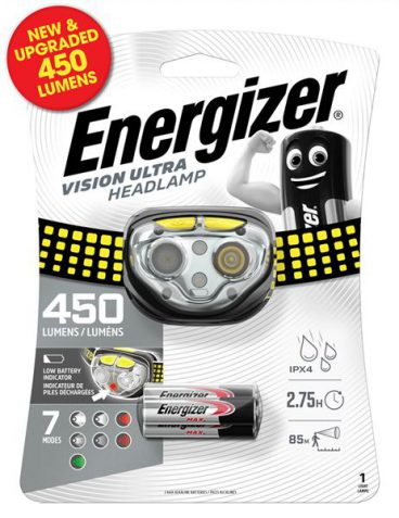 TORCH HEAD TORCH LAMP 450 LUMEN
