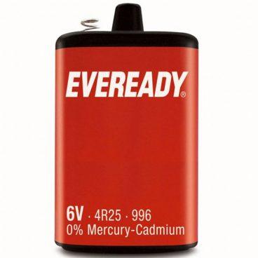 BAT ENERGIZER 996 / 4R25 MERCURY CADMIUM