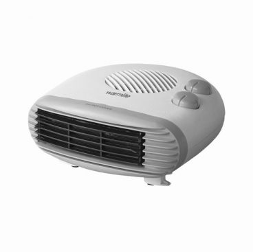 2W Flat Fan Heater Warmlite White