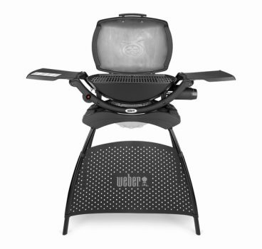 WEBER BBQ GAS Q2000 WITH STAND BLACK (2021)
