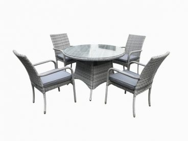 RATTAN TUSCANY TABLE 4 CHAIRS SET (2021)