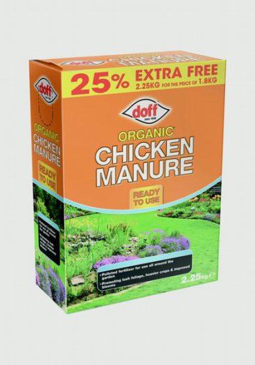 CHICKEN MANURE 2.25KG DOFF