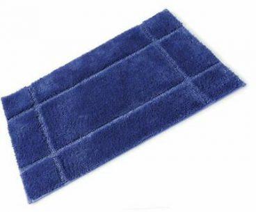 BATH MAT FIBRE ROYAL BLUE 50X80CM