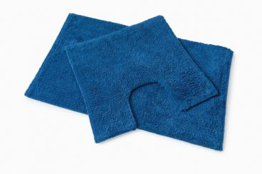 BATH MAT SET PREMIER ROYAL BLUE 50X80CM/50X50CM