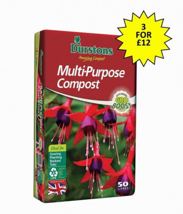 COMPOST M/P 50L DURSTONS (3 for £12)
