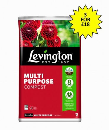 COMPOST M/P LEVINGTON 70L (3 FOR £18)