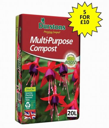 COMPOST M/P 20L DURSTONS (5 FOR £10)