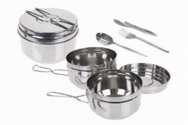 CAMPING TIFFIN COOKSET S/S