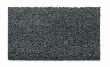 DOORMAT GROUNDSMAN COIR PLAIN GREY 40X70CM