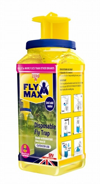BUZZ BAITED DISPOSABLE FLY TRAP STV334