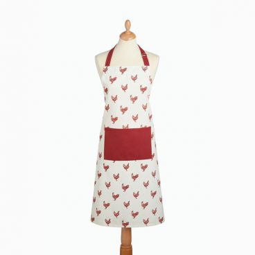 APRON RED HEN