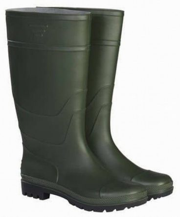 BRIERS WELLINGTON BOOTS GREEN SIZE 8