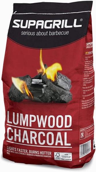 CHARCOAL LUMPWOOD 4KG