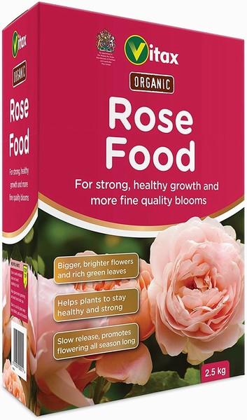 Vitax – Rose Food – 2.5kg