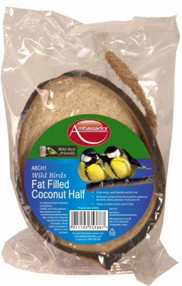 BIRD FEED 1/2 COCONUT FAT FILLED