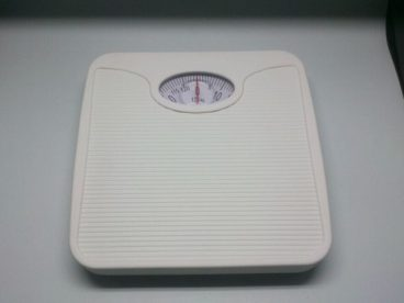 SCALES B/ROOM MECHANICAL WHITE