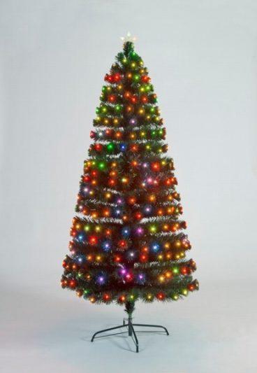 FIBRE OPTIC TREE INDOOR/OUTDOOR 120CM 4FT