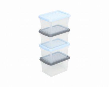 STORAGE BOX SET4 1.5L WHAMBOX