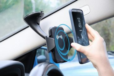 PHONE HOLDER WIRELESS CHARGER