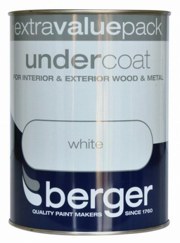 BERGER U/C WHITE 1.25L