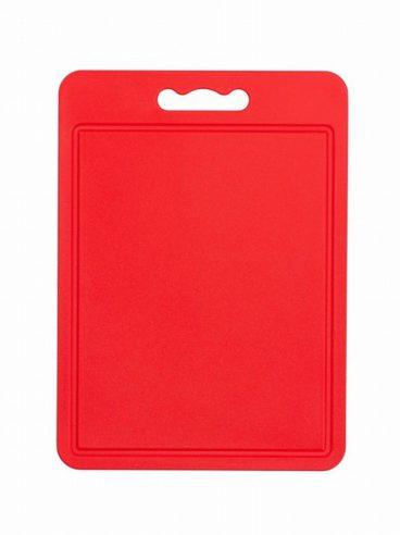 CHOPPING BOARD RED 35X25CM CHEFAID