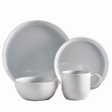 DINNER SET 16PC OSLO CLOUD GREY
