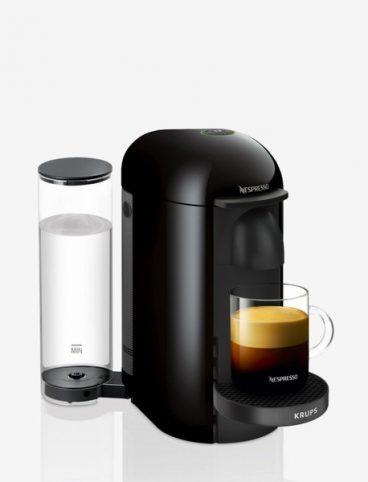 COFFEE MAKER KRUPS VERTUO PLUS BLACK NESPRESSO*
